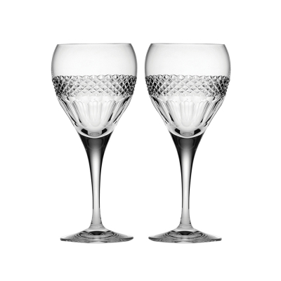 Royal Scot Diamonds Large Wine Glasses - Set of 2