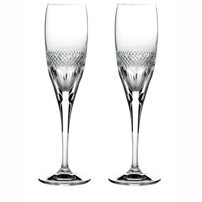 Royal Scot Diamonds Flute Champagnes Glasses - Set of 2