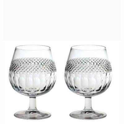 Royal Scot Diamonds Brandy Glasses - Set of 2