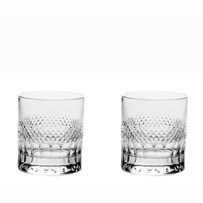 Royal Scot Diamonds Large Old Fashioned Tumblers - Set of 2