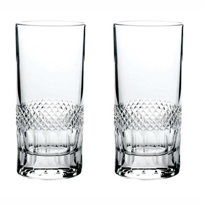Royal Scot Diamonds Highball Tumblers - Set of 2