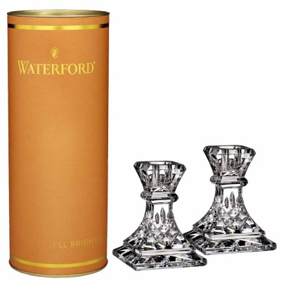 Waterford Giftology Lismore Candlestick - Set of 2