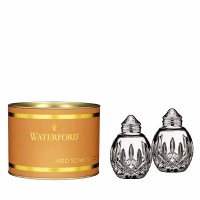 Waterford Giftology Lismore Round Salt & Pepper Set