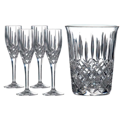 Royal Doulton Decanter Sets Champagne Bucket & Flutes