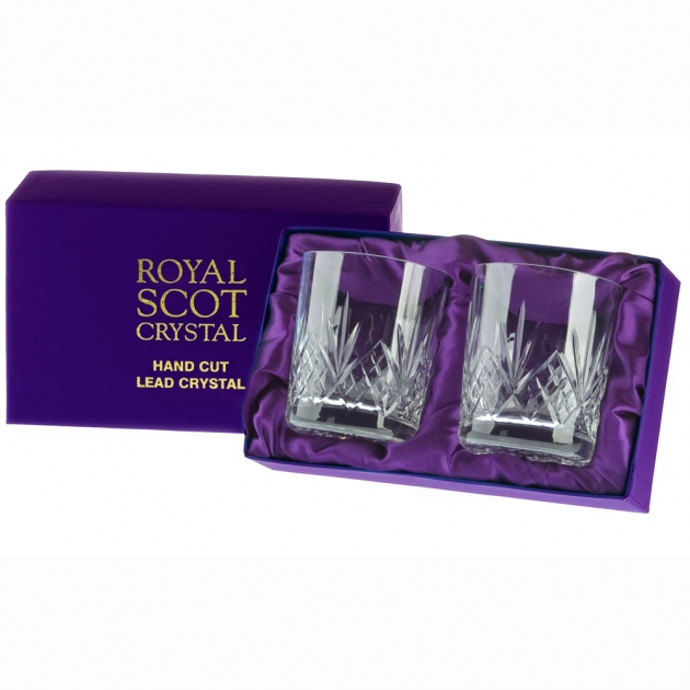 Royal Scot Highland Small Whisky Tumblers - Set of 2